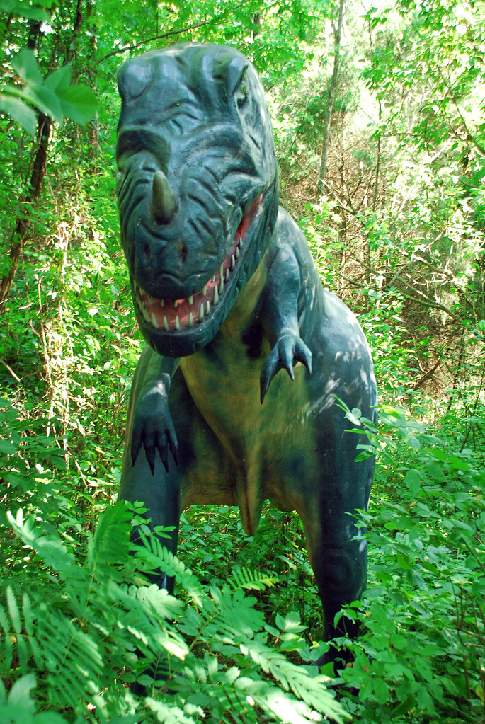 Dinosaur World Kentucky Park Saturday Jun 27 2009