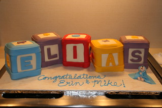 Baby Blocks Cake | by Lucky Penny Cakes