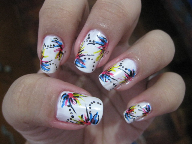 Nail Art Design Abstract Nail Art Design Maria Katrina Tiong Flickr
