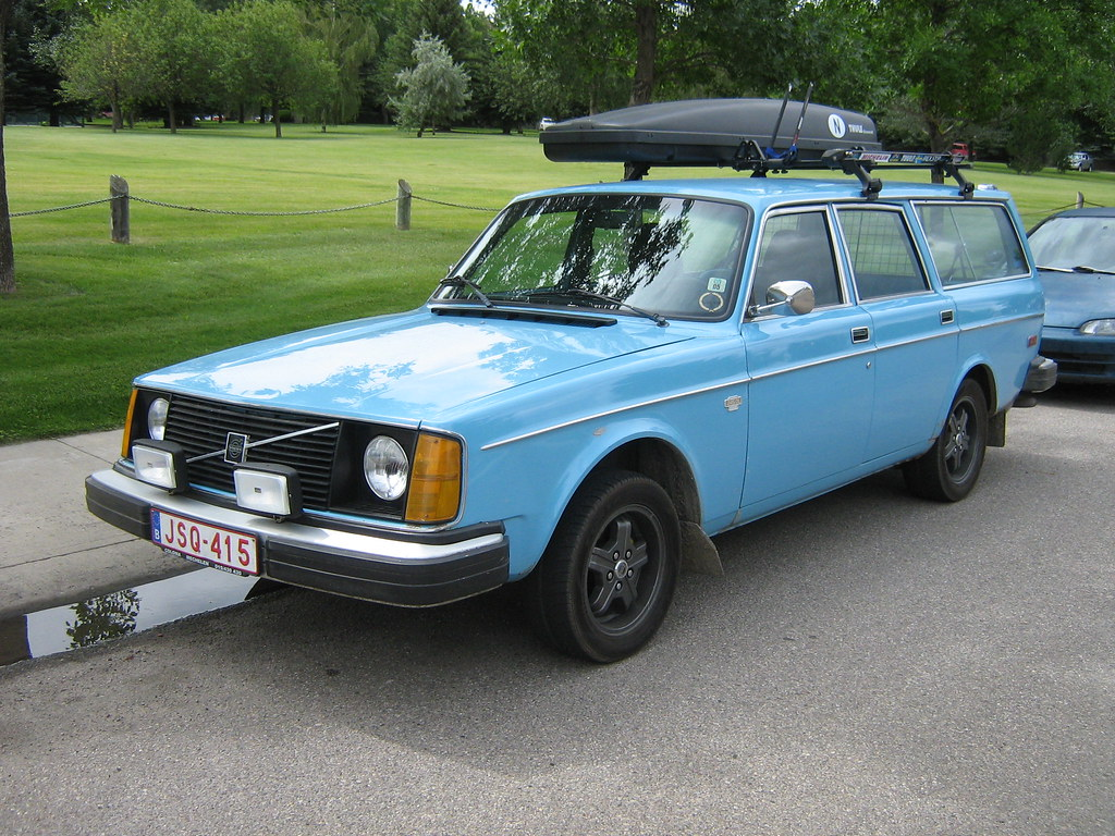 1976 Volvo 245 Dl Station Wagon Volvo 245 Dl Station