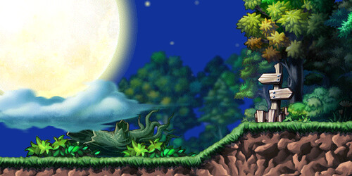 Forest Maplestory Maplestory Moon Forest | by