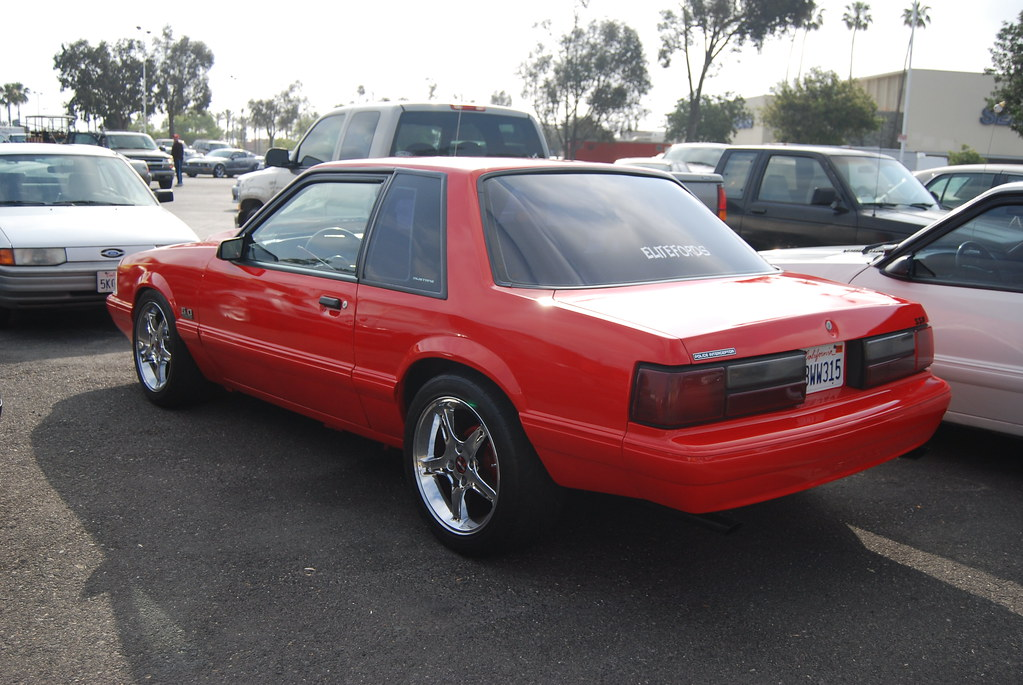 Ford Mustang 5 0 Lx Foxbody Coupe With Chrome Svt Cobra R