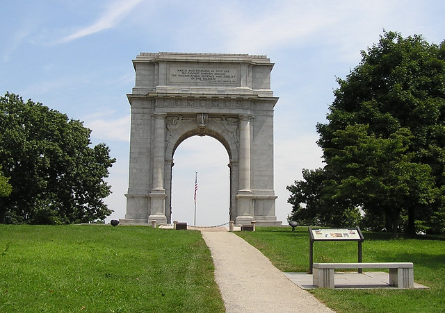 Vf2 Valley Forge National Memorial Arch Flickr Photo Sharing