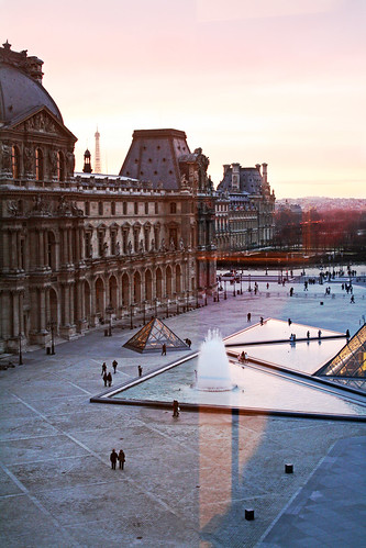 Paris Sunset from the Louvre window | by Dimitry B