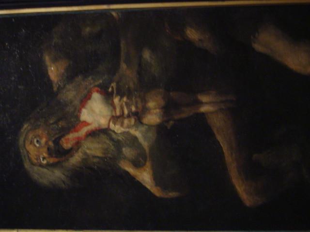 Prado Goya Saturno Devorando a su Hijo