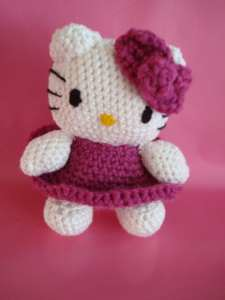 Amigurumi Kitty Espanol : Amigurumi Hello Kitty
