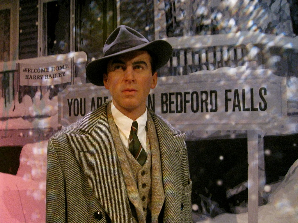 Jimmy Stewart In It 39 S A Wonderful Life Took These Pictur Flickr