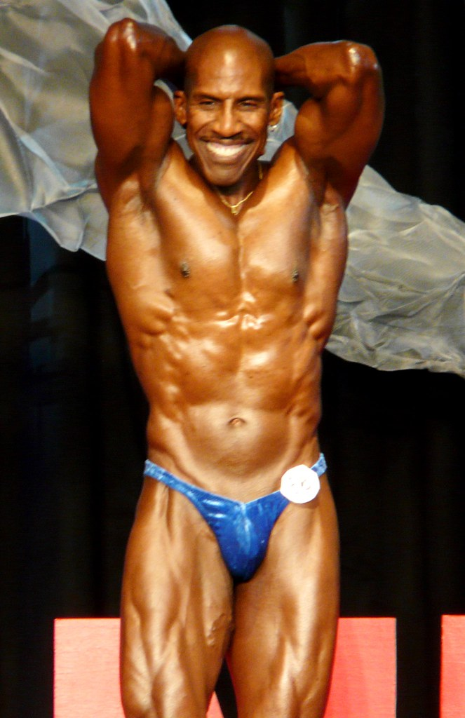 Muscular Smile   The Ironman bodybuilding competition in