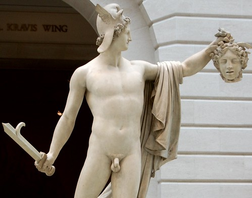 Antonio Canova - Perseus and Medusa front wide view detail, Metropolitan Museum of Art, New York | by ketrin1407