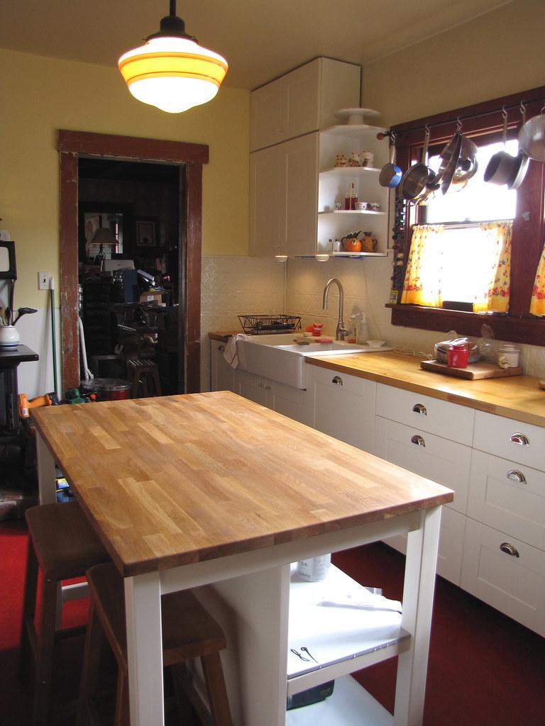 Stenstorp Kitchen Island Stain