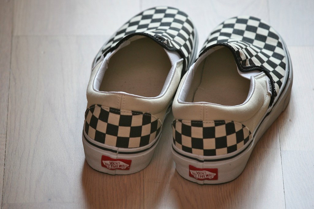 Vans Black And White Bouy Shoes