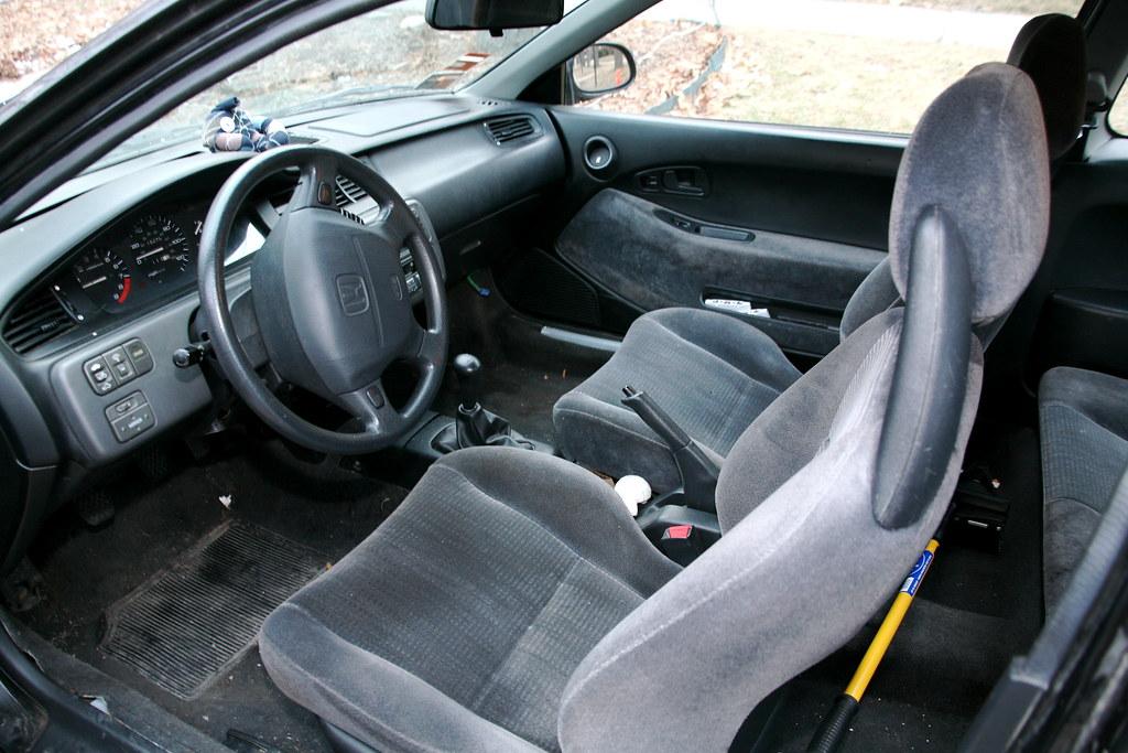 1995 Honda Civic Ex Interior Deepfried Buddhafish Flickr