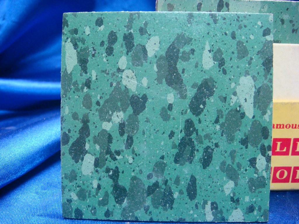 Vintage Retro 50s Asphalt Floor Tile Asbestos Kentile Samp