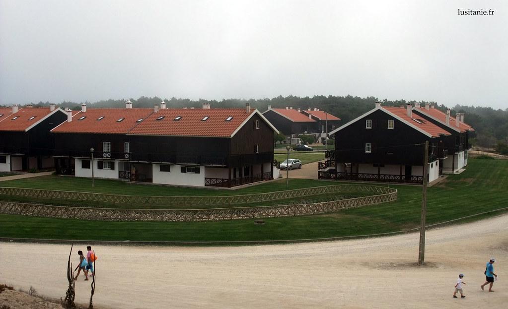 Les nouvelles constructions respectent l'architecture des Palheiros da Tocha
