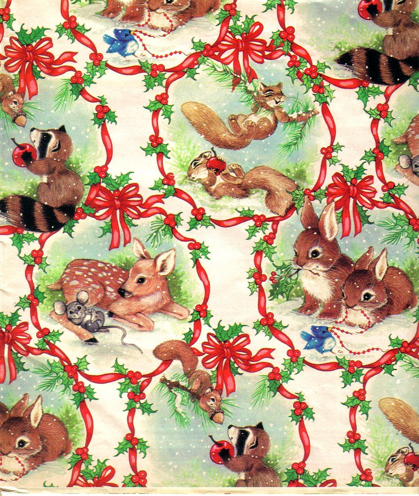 Old Fashioned Christmas Gift Wrap