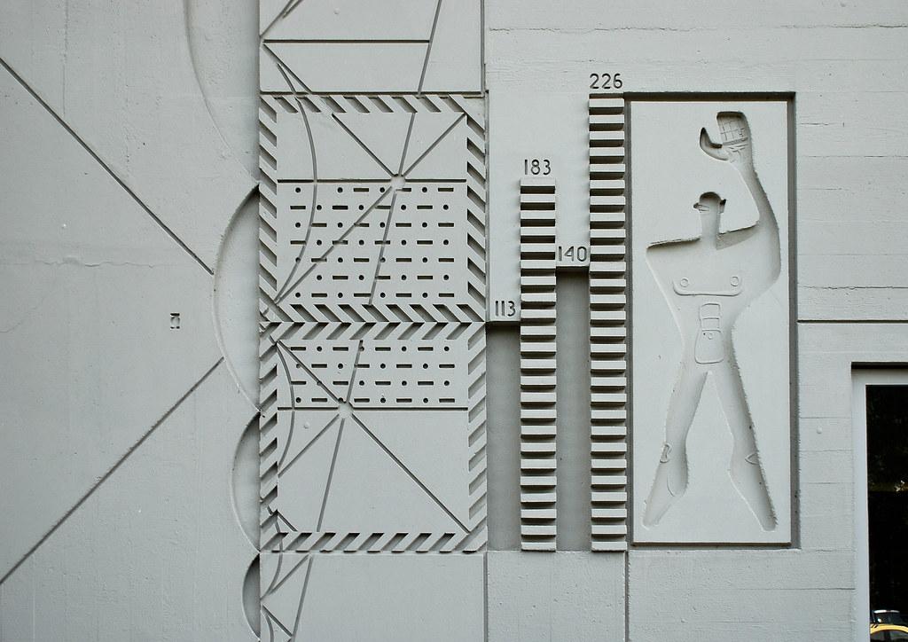 berlin modulor ausschnitt am corbusierhaus 1958 flickr. Black Bedroom Furniture Sets. Home Design Ideas