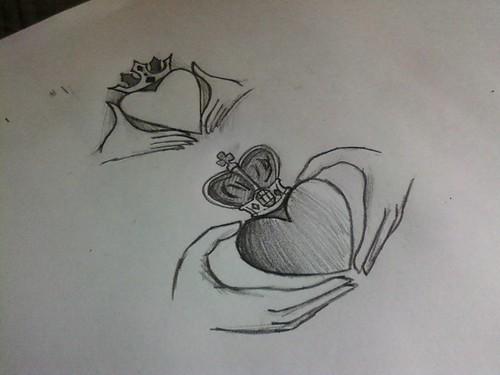 Claddagh Ring Designs Tattoo