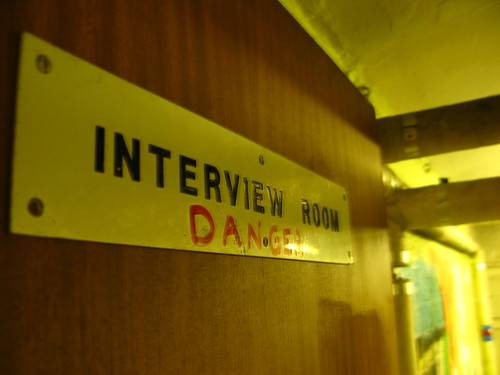 INTERVIEW ROOM DANGER | by creating in the dark