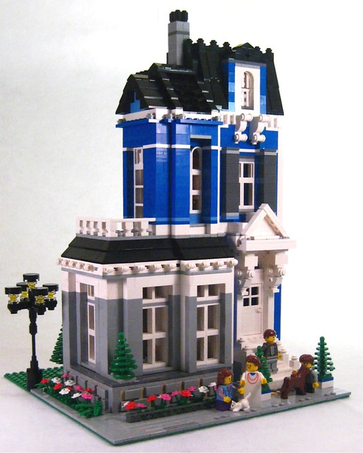 Sky Victorian Modular House From The Parlor You Can See