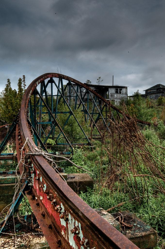 Chippewa Lake Amusement Park Tumble Bug Rail The Tumble
