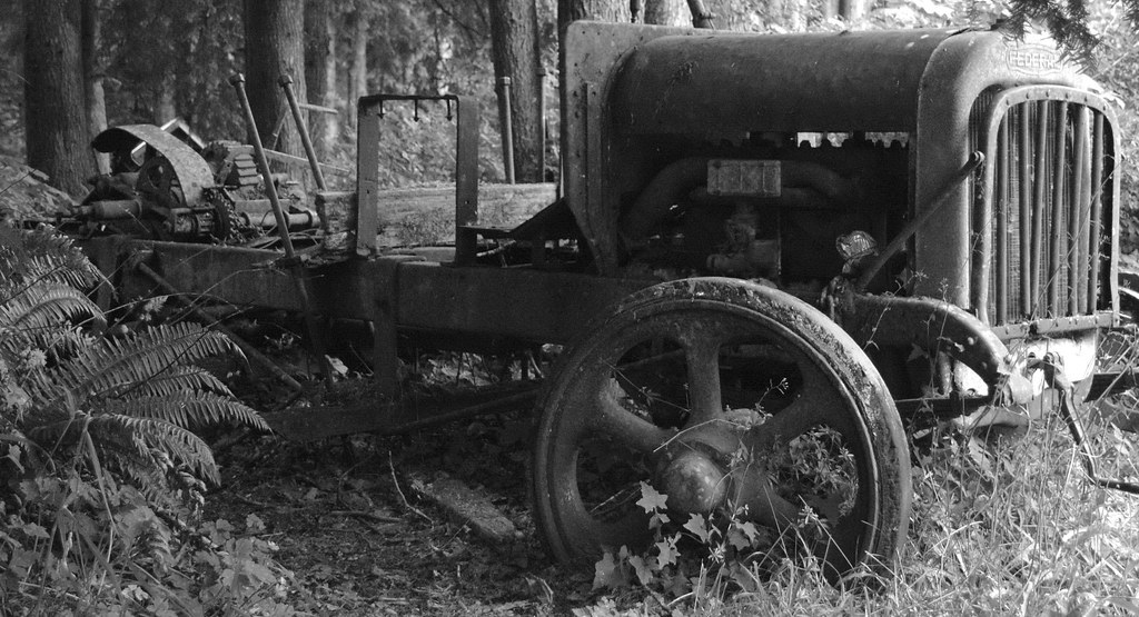 Old Logging Truck Antiques Sayward Bc Brad Edwards