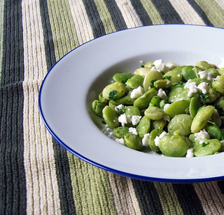 lima beans with feta close up | by Jess | Sweet Amandine