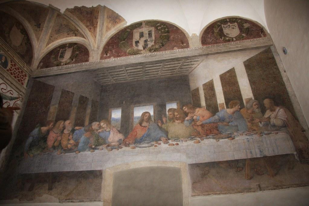 Da Vinci's Last Supper Fresco | The original fresco of the l… | Flickr Da Vinci Last Supper Restored