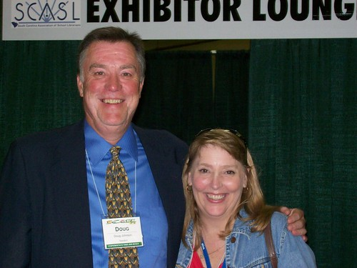 Doug Johnson and Cathy Nelson | by sc_association_school_librarians