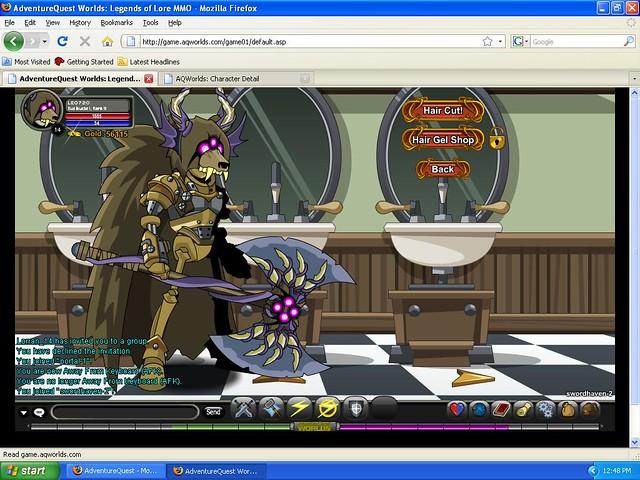AQW screen shot 1 | Another adventure quest worlds screen sh… | Flickr