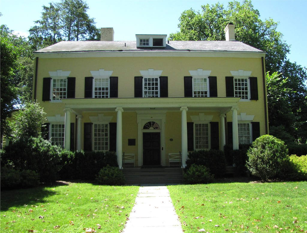President 39 s house princeton new jersey nj built by for The princeton house