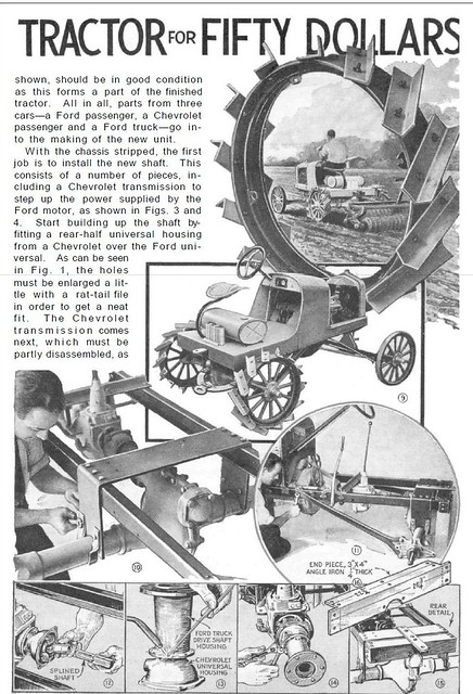 how to build your own ford model t tractor part 2 flickr