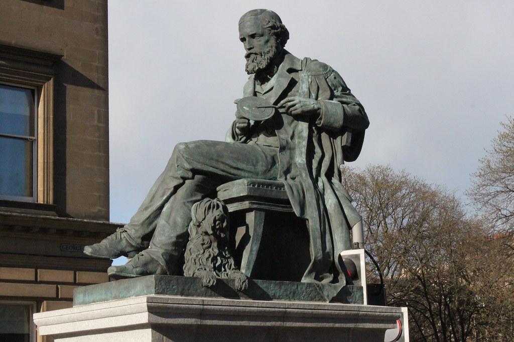 Statue of James Clerk Maxwell in Edinburgh, Scotland | Flickr