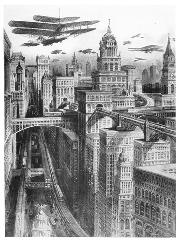 R. Rummel - Future New York (1911)