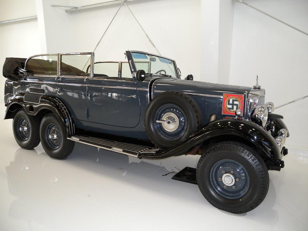 Dscn2080 hitler 39 s hotrod mercedes 6 wheel drive my old for Mercedes benz 6 wheel