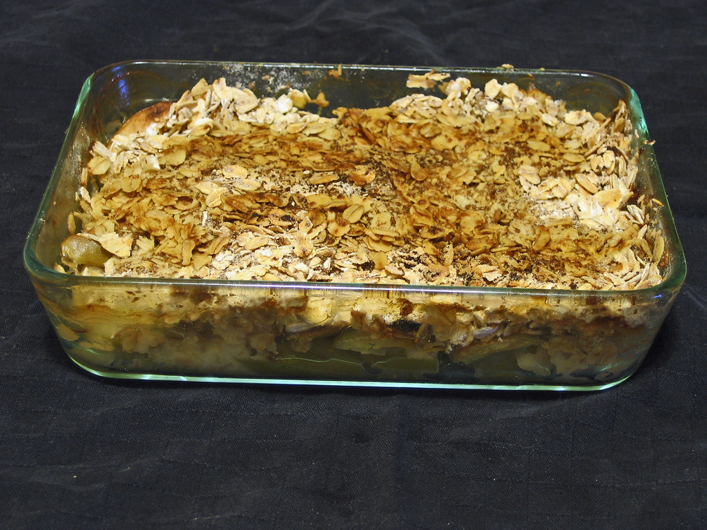 Apple Crisp With Gluten Free Old Fashioned Oats Recipe