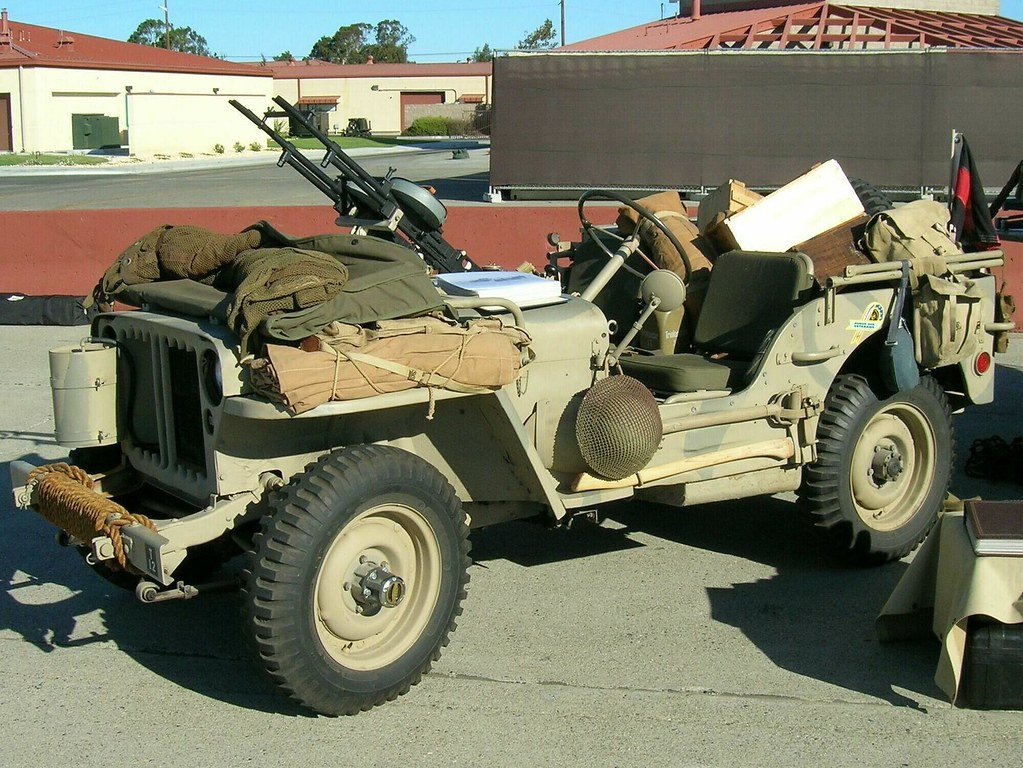 1941 Willys Jeep Long Range Desert Group 1 Photograhed