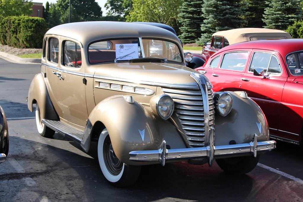 1938 Hudson Sedan 2009 Het National Meet Pontiac