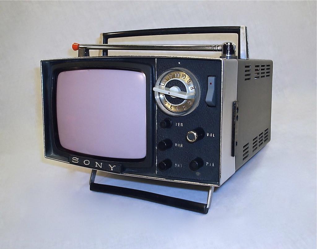 2 Retro Portable TV's RCA Deluxe 1950's & General Electric ...  |1960s Portable Televisions