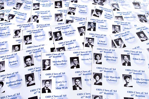 218 365 Name Tags For My 45th Year High School Reunion
