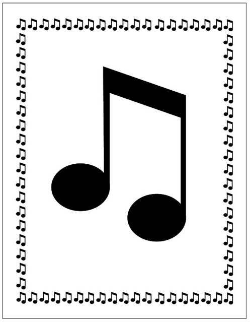 Free Music Note Border Im Sorry But The File Was Lost Vi Flickr