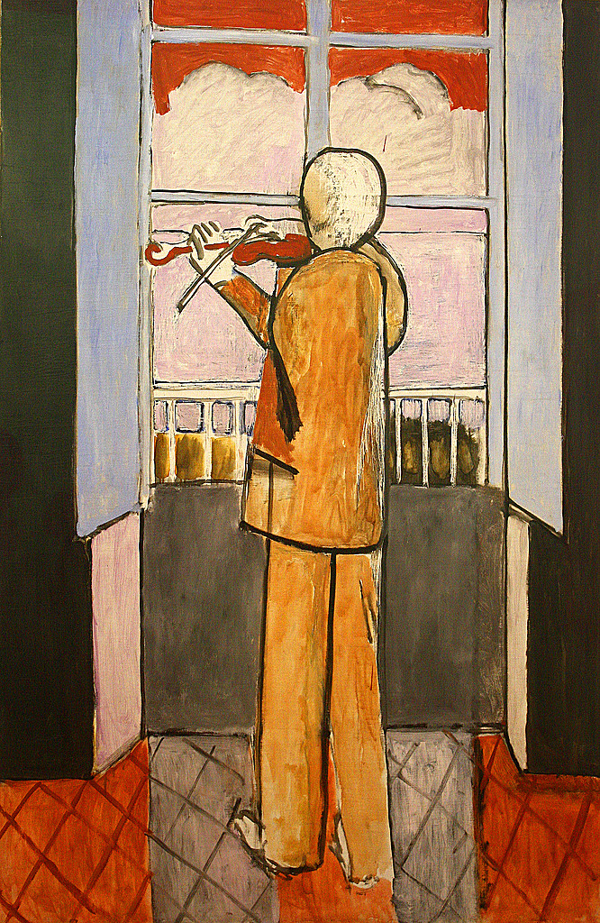 All sizes henri matisse the violinist at the window for Henri matisse fenetre ouverte