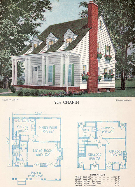 1928 Home Builders Catalog The Chapin