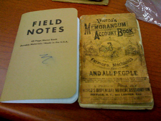 Field Notes Vs Old Notebook Austin Moody Flickr