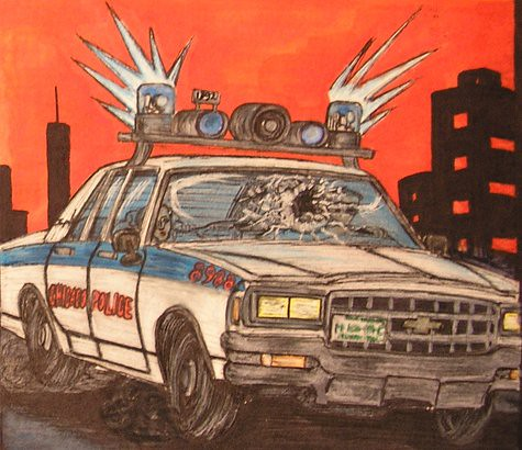 Chicago Police 1981 Chevy Impala 9C1 | Early graphic novel ...