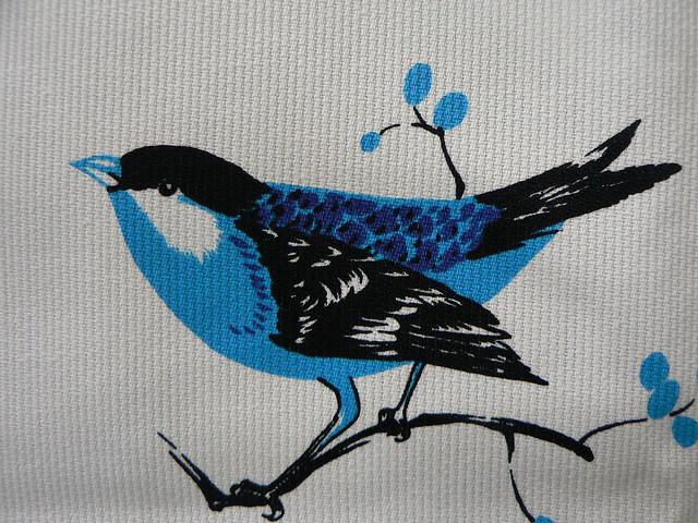 Vintage Fabric Bird 17