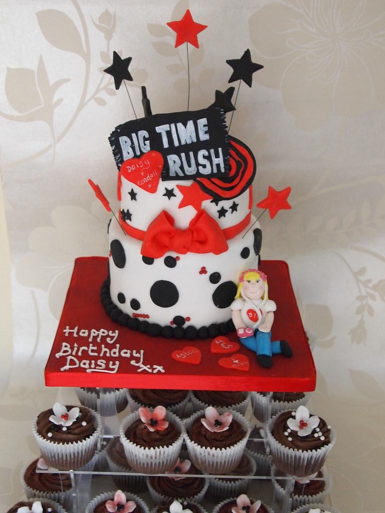 big time rush cake | p...