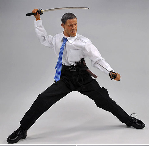 Obama Samurai action figure | by STARFEEDER