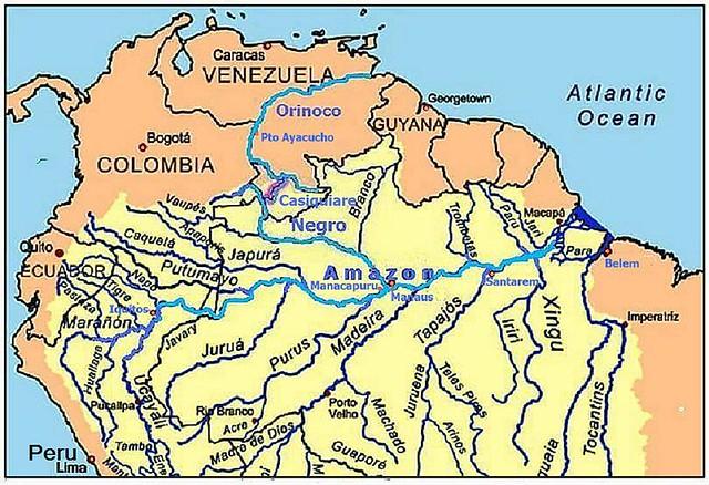 Orinoco River Orinoco-Casiqui...