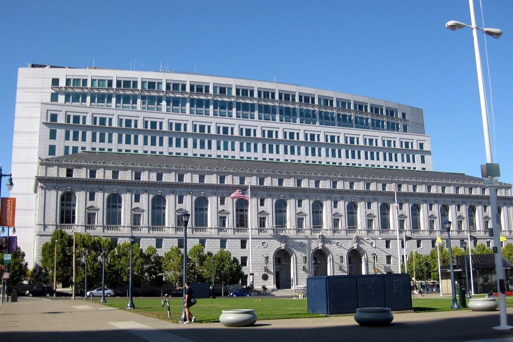 San Francisco Civic Center California State Office Comp
