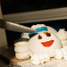 Stay Puft Marshmallow Man birthday cake